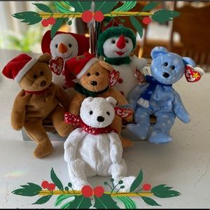 TY | Holiday Set Beanie Babies Set of 6